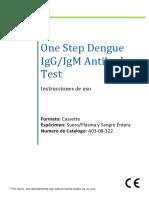 Dengue One Step Insert ArtronFinal