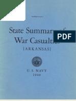 WWII Arkansas Navy Casualties