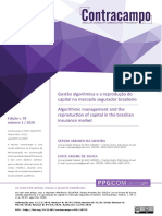 Sergio Amadeu Da Silveira - Gestão Algorítmica e a Reprodução Do Capital