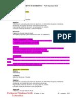 PLANEJAMENTO DE MATEMÁTICA - ESCOLA OCASULO - 6°ANO - 08-09-2020 a 14-09-2020