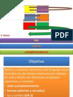 ppt 5º ARTES colores complementarios