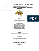 CINETICA DE LA CORROSION (INFORME)
