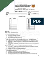 Quiz 12 - Subs Test - Audit of Investment (Q)