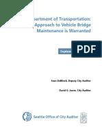 Seattle Bridges - Final Report September 2020