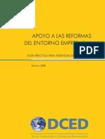 DCED desarrollo empresarial