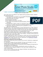 Zoner Photo Studio 13 Pro