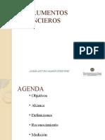 Presentación Instrumentos Financieros