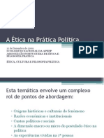 Ética, Marketing e Política