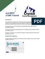 ##CrystalPM AOA MORE Integration Tutorial