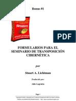 Bonus 1. Stuart Lichtman - Formularios Para El Seminario de TC