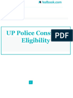 UP Police Constable Eligibility