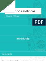 2. Campos elétricos - Slides