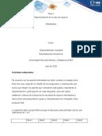 Trabajo Colaborativo Fase 2 – Implementación de la idea de