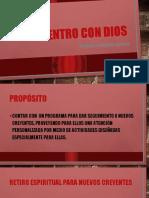 PROGRAMA RATIRO PARA NUEVOS CREYENTES