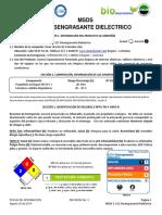 3 - msds - Desengrasante Dielectrico - S211