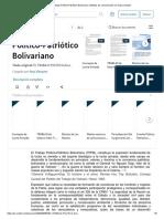 El Trabajo Político-Patriótico Bolivariano _ Medios de comunicación en masa _ Nación