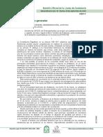 Decreto-ley 25/2020, de 29 de septiembre, por el que, con carácter extraordinario y urgente, se crea y regula el Bono Turístico de Andalucía, como consecuencia de la situación ocasionada por el coronavirus (COVID-19).