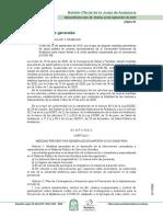 Orden de 22 de septiembre de 2020, por la que se adoptan medidas preventivas de salud pública en centros sociosanitarios de la Comunidad Autónoma de Andalucía para hacer frente a la crisis sanitaria ocasionada por el coronavirus (COVID-19).