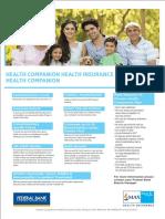Health Companion Brochure