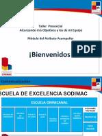 Presentación Alcanzando Mis  Objetivos y los de mi Equipo  ajustada a Julio-2015.ppt