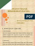 Perawatan wajah berjerawat (facial) ppt