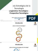 Clase 7. Diagnóstico Tecnológico - Prospectiva Tecnológica GET