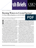Burning Waters to Crystal Springs? U.S. Water Pollution Regulation over the Last Half Century