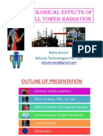 Biological Effects of Cell Tower Radiation