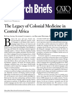 The Legacy of Colonial Medicine in Central Africa