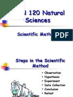 Week 1  2 Scientific Method