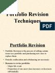 Portfolio Revision Techniques
