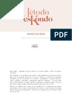 Clase método eskondo ORDEN EN EL ORDENADOR