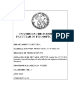 2020  HISTORIA ARGENTINA I (1776-1862) - B FARBERMAN