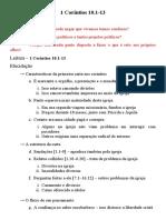 Sermão 1Co 10.1-13