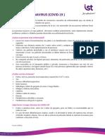 Información para trabajadores CoVID-19 040620