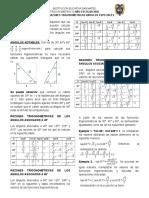 GUIA No. 11 FUNCIONES TRIGONOMETRICAS PARA ANGULOS DE 30,45 Y 60.docx
