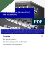 2.Introducción a la selección de materiales - Pozos Térmicos