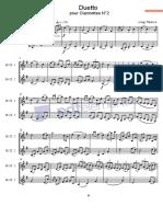 Duo Clarinettes N°2 avec Parts.pdf