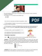 atividade matematica e Ciencias  2222