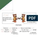Plansa Ortograme - Mai, M-Ai