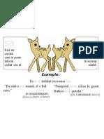 Plansa Ortograme - Sa, S-A