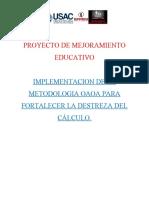 metodologia OAOA Matematicas