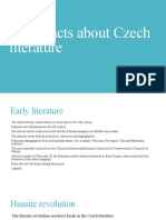 AJ-Basic Facts About Czech Literature