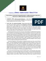 Military History Anniversaries 1001 Thru 101520