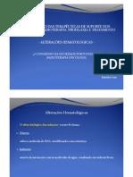 D112 Optimização das Terapêuticas de Suporte - Hematológicas