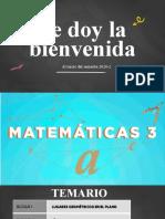 Presentacion Matematicas III