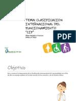 Clasificación Internacional Del Funcionamiento CIF