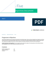 Progression in Objectives Document - Year 5 (2).pdf