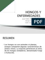 HONGOS Y ENFERMEDADES
