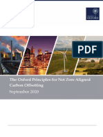 Oxford Offsetting Principles 2020